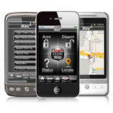 Smartphone interface GPS Tracking tool