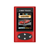 Concealed antenna Touch Screen display 2-Way Alarm & Starter