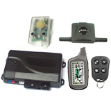 LCD Display 2-Way Alarm (with GSM smartphone dataport)