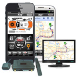 Smartphone Remote Control & Tracking (GPS/GPRS/GSM Tracking System with RS232 Data Port)
