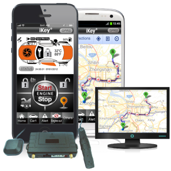 GPS Tracker (GPS/GPRS/GSM Tracking System with RS232 Data Port)