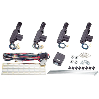 remote central door locking system
